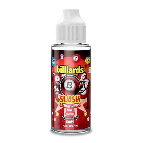 Strawberry Kiwi Slush by billiards E Liquid 120ml Shortfill