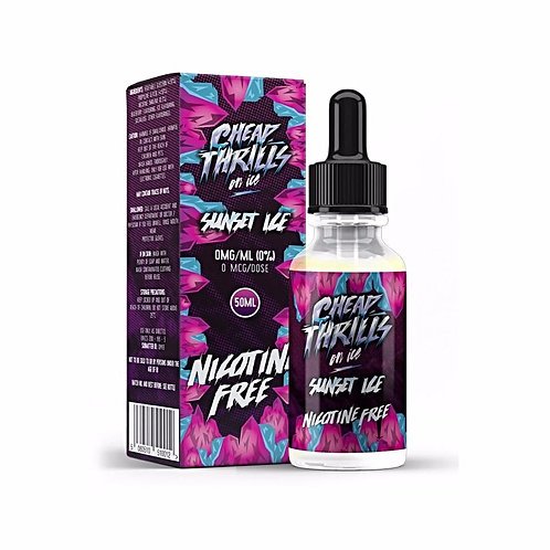 Sunset Ice by Cheap Thrills Juice Co E Liquid 60ml Shortfill