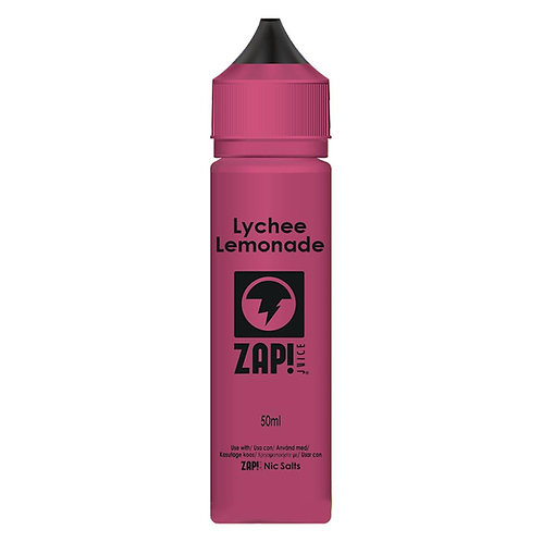 Lychee Lemonade by Zap Juice E Liquid 60ml Shortfill