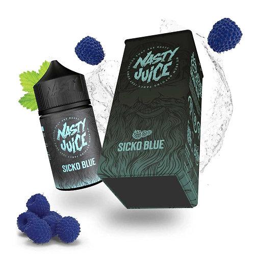 Sicko Blue (Berry Series) by Nasty Juice E Liquid 60ml Shortfill