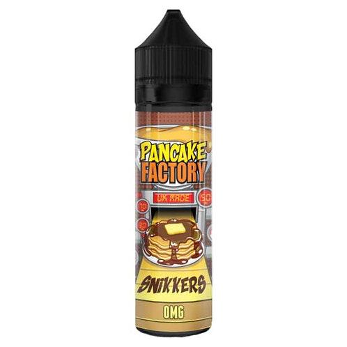 Snikkers By Pancake Factory E Liquid 60ml Shortfill