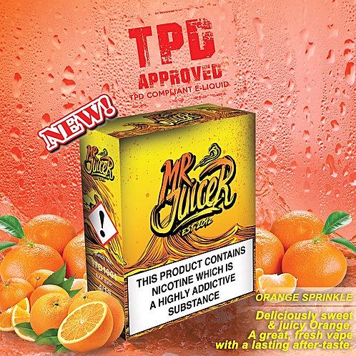 Orange Sprinkle By Mr Juicer E Liquid