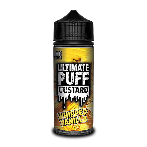 Whipped Vanilla Custard by Ultimate Puff E Liquid 120ml Shortfill