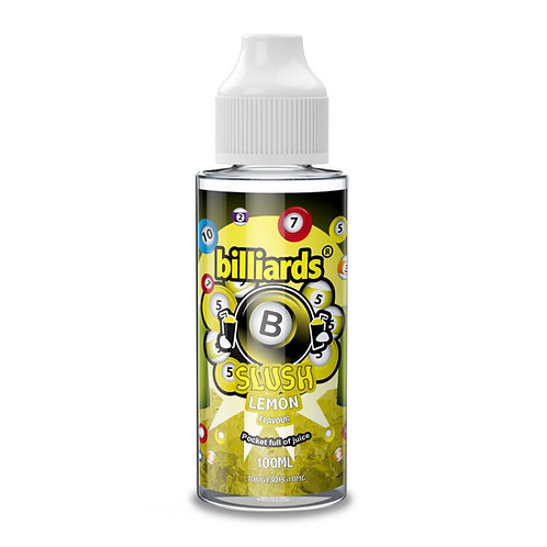 Lemon Slush by billiards E Liquid 120ml Shortfill