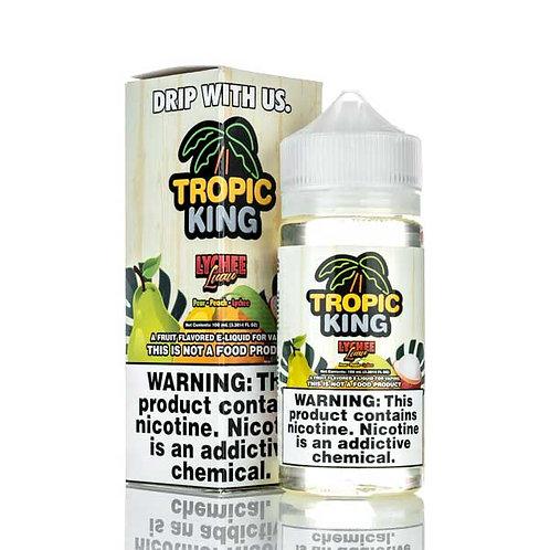 Tropic King Lychee Luau by Candy King E Liquid 120ml Shortfill
