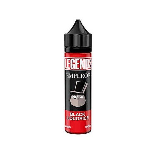 Emperor Black Liquorice by Legends E Liquid 60ml Shortfill