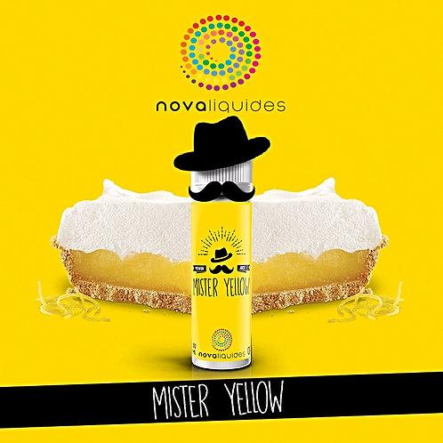 Mister Yellow by Nova Liquides E Liquid 60ml Shortfill