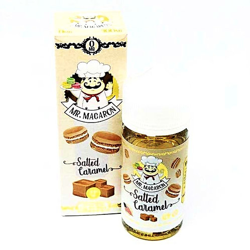 Salted Caramel by Mr Macaron E Liquid 100ml Shortfill