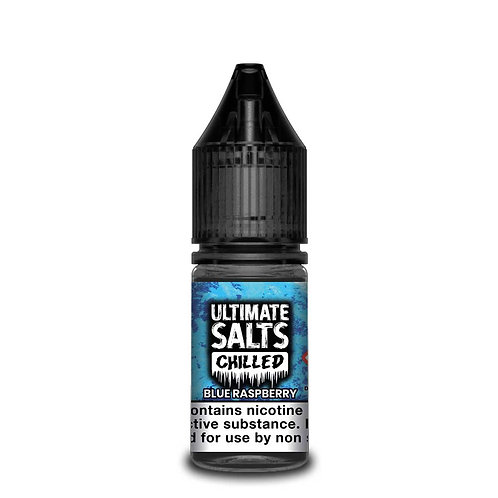Chilled Blue Raspberry Nic Salt by Ultimate Puff E Liquid