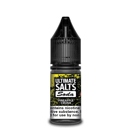 Pineapple Crush Soda Nic Salt by Ultimate Puff E Liquid