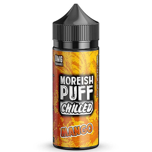 Chilled Mango by Moreish Puff E Liquid 120ml Shortfill