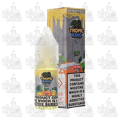 Tropic King Maui Mango Iced Nic Salt by Candy King E Liquid