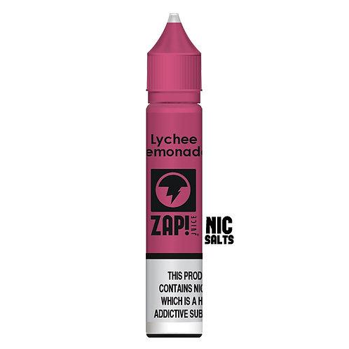 Lychee Lemonade Nic Salt by Zap Juice E Liquid