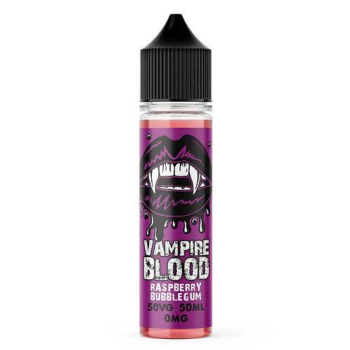 Raspberry Bubblegum by Vampire Blood E Liquid 60ml Shortfill