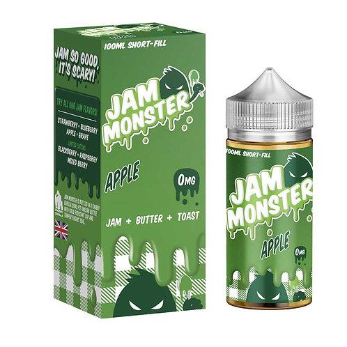 Apple by Jam Monster E Liquid 120ml Shortfill