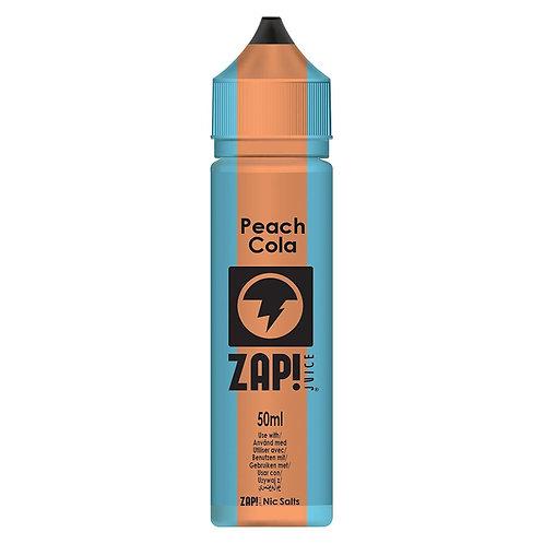 Peach Cola by Zap Juice E Liquid 60ml Shortfill