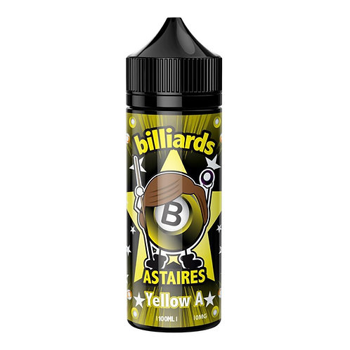Yellow A Astaires by Billiards E Liquid 120ml Shortfill