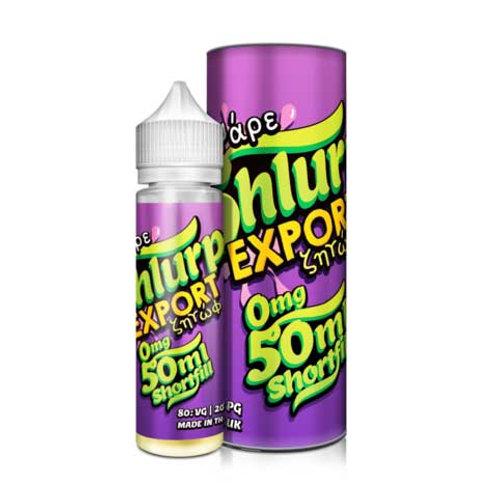 Export by Vape Shlurp E Liquid 60ml Shortfill