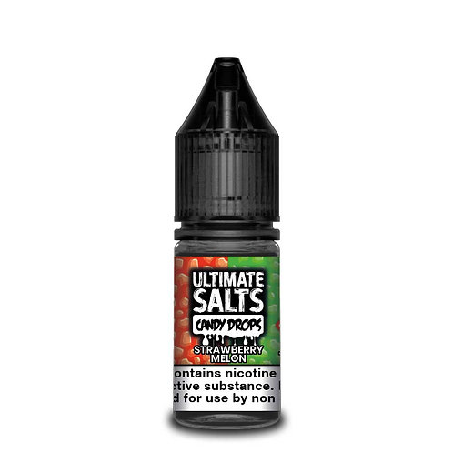 Strawberry Melon Candy Drops Nic Salt by Ultimate Puff E Liquid