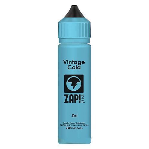 Vintage Cola by Zap Juice E Liquid 60ml Shortfill