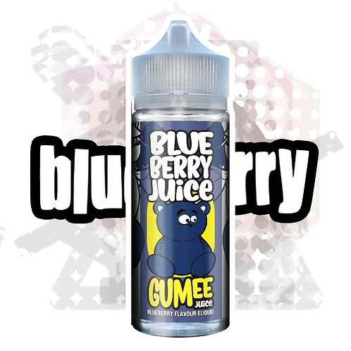 Blueberry Juice by Gumee Juice E Liquid 120ml Shortfill