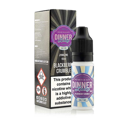 Blackberry Crumble Nic Salt by Dinner Lady E Liquid