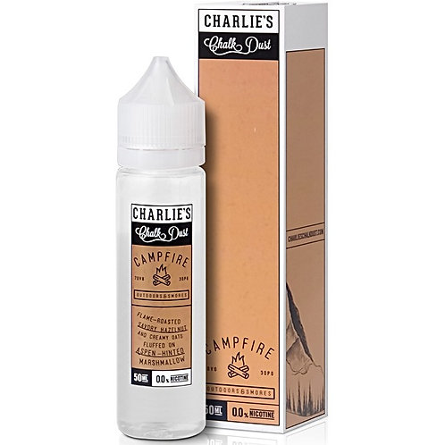 Campfire by Charlie's Chalk Dust E Liquid 60ml Shortfill