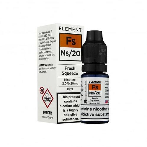 Fresh Squeeze NS20 Designer Nicotine Salt by Element E Liquid