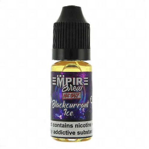 Blackcurrant Ice Nic Salt by Empire Brew E Liquid