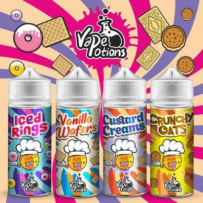 Biscuits Bundle by Vape Potions E Liquid