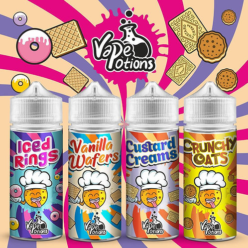 Biscuits Bundle by Vape Potions E Liquid 4x120ml Shortfills