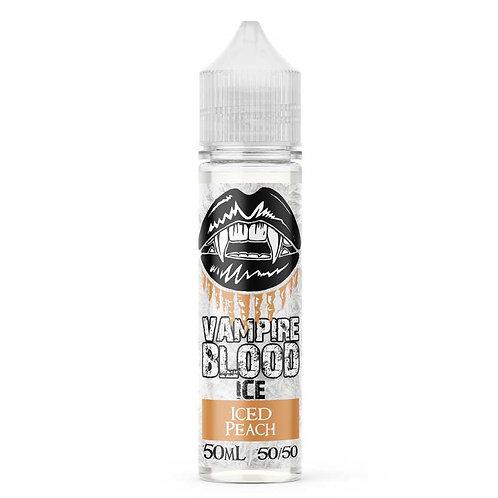 Iced Peach (Ice) by Vampire Blood E Liquid 60ml Shortfill