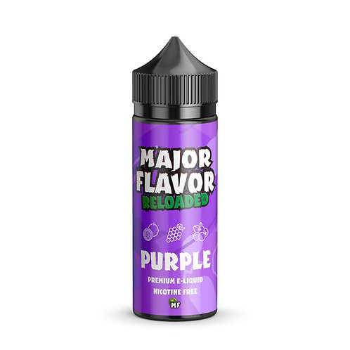 Purple by Major Flavor E Liquid 120ml Shortfill