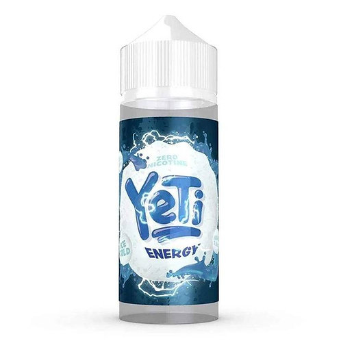Energy by Yeti E Liquid 120ml Shortfill