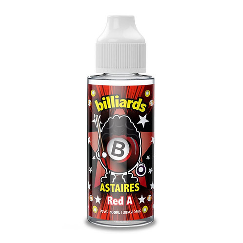 Red A Astaires by Billiards E Liquid 120ml Shortfill