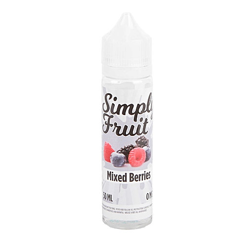 Mixed Berries by Simply Fruit E Liquid 60ml Shortfill