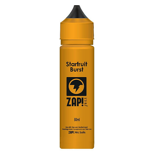 Starfruit Burst by Zap Juice E Liquid 60ml Shortfill