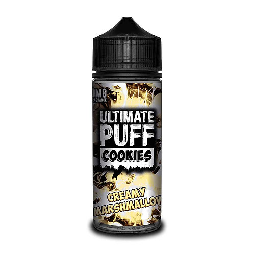Creamy Marshmallow Cookies by Ultimate Puff E Liquid 120ml Shortfill