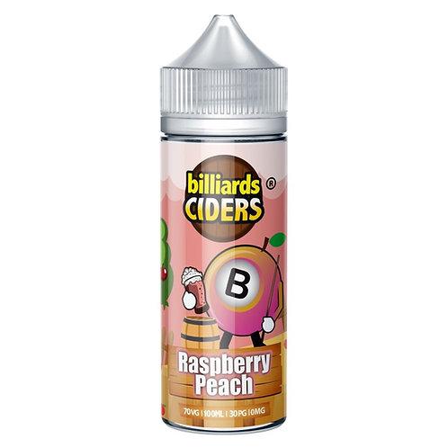Raspberry Peach Ciders by Billiards E Liquid 120ml Shortfill