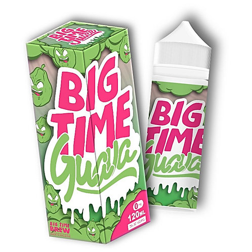 Guava by Big Time Juice E Liquid 120ml Shortfill