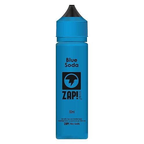 Blue Soda by Zap Juice E Liquid 60ml Shortfill