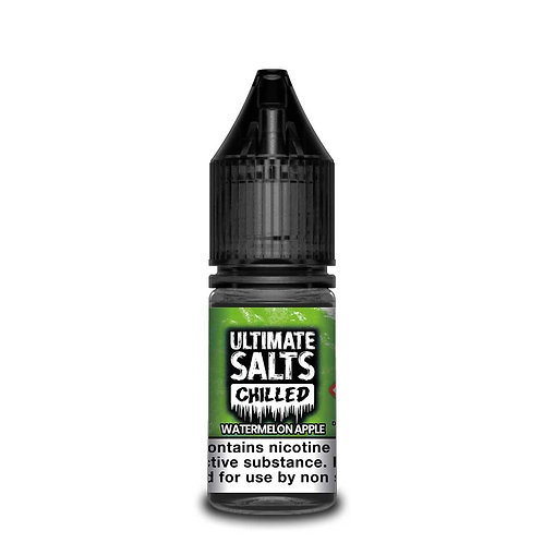 Chilled Watermelon Apple Nic Salt by Ultimate Puff E Liquid