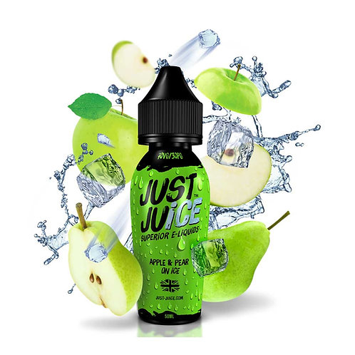 Apple & Pear On Ice by Just Juice E Liquid 60ml Shortfill