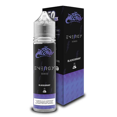 Blackcurrant (Energy Series) by The Fog Clown E Liquid 60ml Shortfill