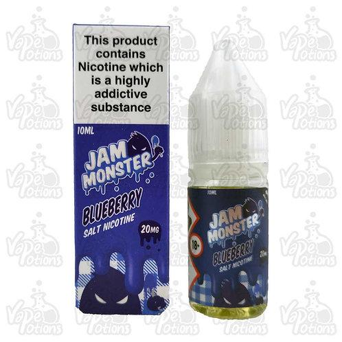 Blueberry Nic Salt by Jam Monster E Liquid