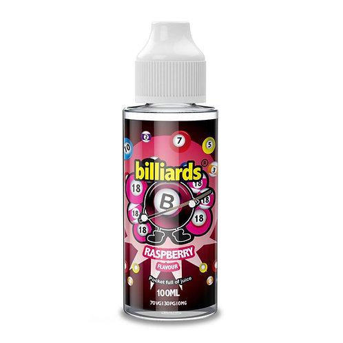 Raspberry by Billiards E Liquid 120ml Shortfill