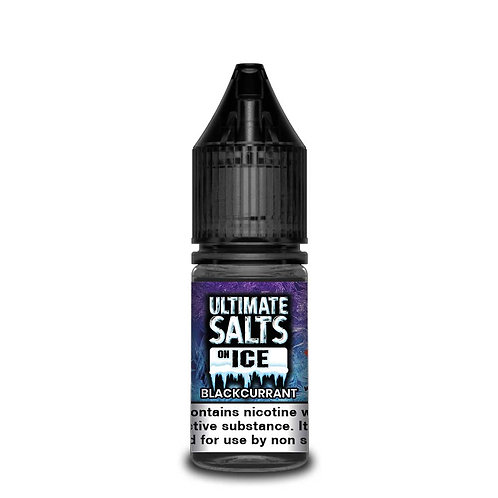 Blackcurrant On Ice Nic Salt by Ultimate Puff E Liquid