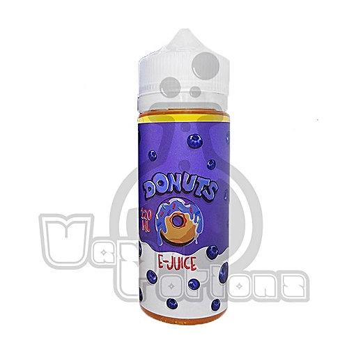 Blueberry Donuts by Donuts E-Juice E Liquid 120ml Shortfill