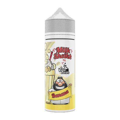 Banana Milk Sheikh (Milkshake) by Vape Potions E Liquid 120ml Shortfill
