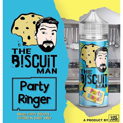 Party Ringer by The Biscuit Man E Liquid 120ml Shortfill